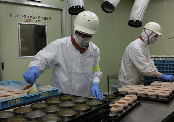 日本茨城县面包加工
