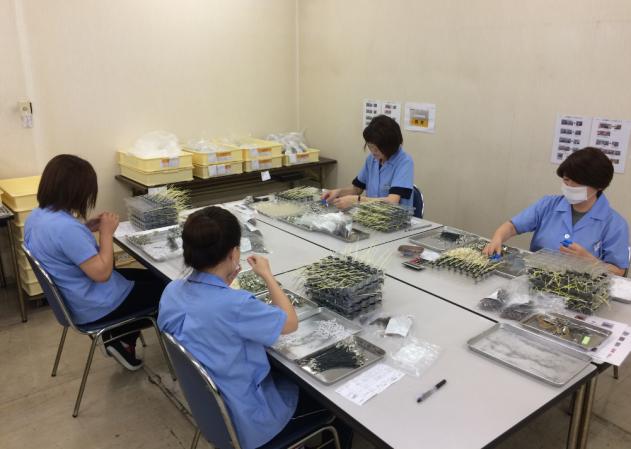 日本三重县电子机器组装